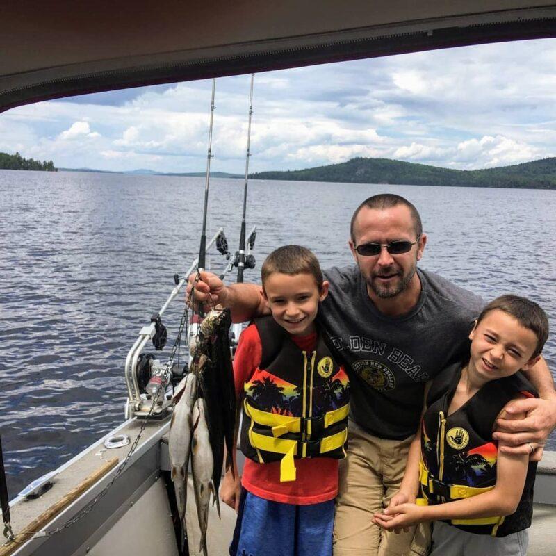 Kid friendly fishing Moosehead Lake