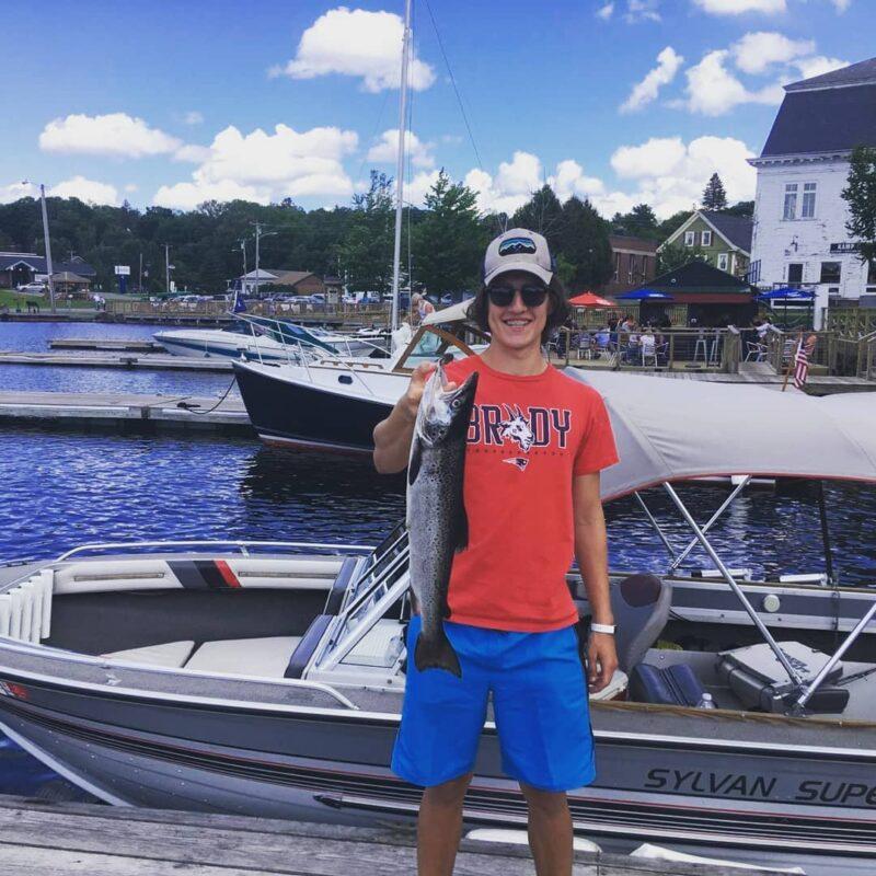 Big Salmon Fishing Maine
