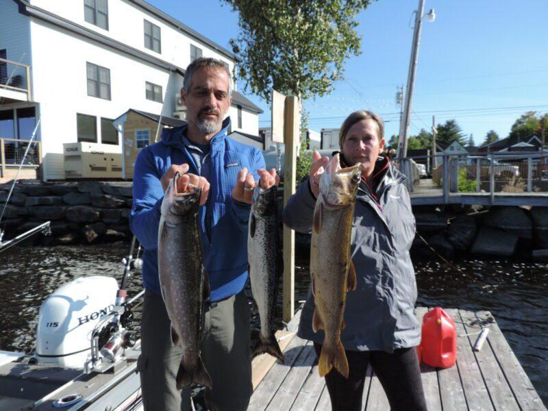 Salmon Lake Trout Brook Trout