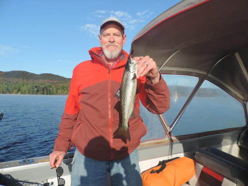 Salmon Fishing Moosehead Lake