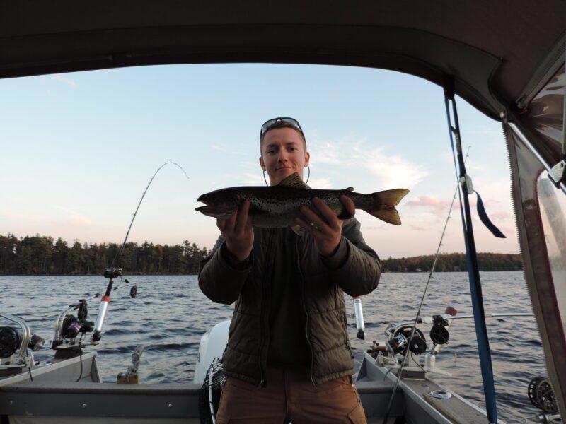 Fishing on Moosehead Lake