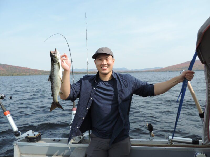 Salmon Fishing Moosehead Lake Maine