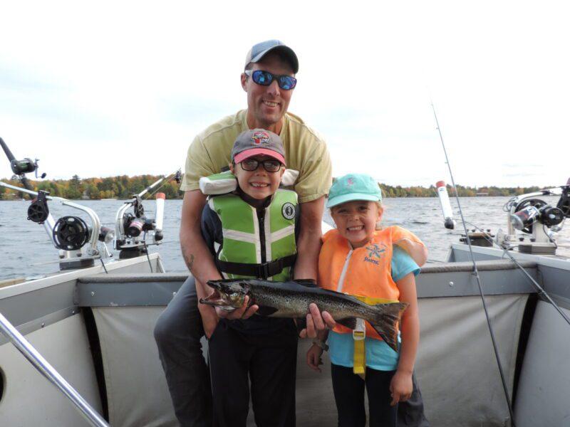 Family Fishing Moosehead Lake