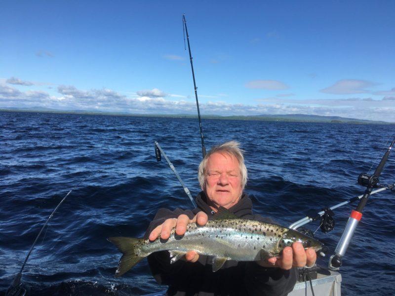 Early Season Salmon Fishing